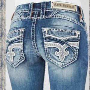 🆕️ Rock Revival PRISCILLA boot cut Jeans